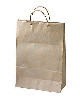 Paper bag Royalty Free Stock Images