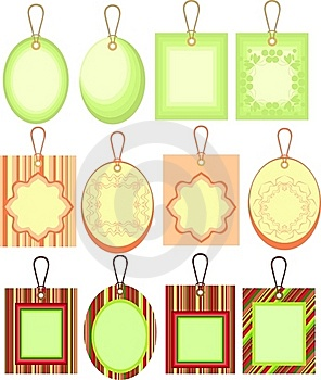 Cardboard Sales Tags Royalty Free Stock Photography - Image: 16890167