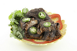 Mexican Beef Short Ribs Barbecue Royalty Free Stock Photo - Image: 16890875