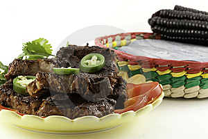 Mexican Beef Short Ribs Barbecue Royalty Free Stock Photos - Image: 16890888