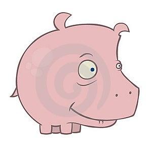 Pink Hippopotamus Stock Photos - Image: 16892213