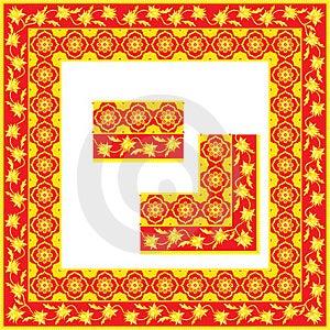 Golden Frame Stock Photo - Image: 16892620