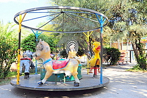 Carrousel Stock Photo - Image: 16893120