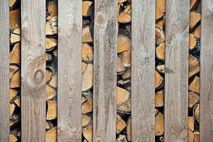 Woodched Outside Stock Images - Image: 16893794