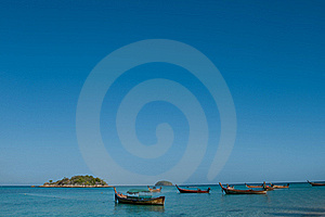 Longtail Boats, Thailand Royalty Free Stock Images - Image: 16894359
