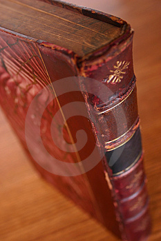 Antique book 02 Royalty Free Stock Image