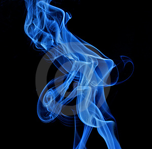 Smoke devil Royalty Free Stock Photos
