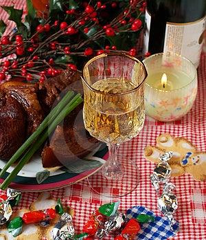 Holiday Dinning #5 Stock Photos - Image: 1699773