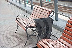 Metal Decorative Garbage Urn Stock Photography - Image: 16901132