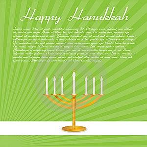 Happy Hanukkah Card Stock Images - Image: 16906864