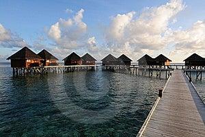 Mirihi Island Resort In The Indian Ocean Royalty Free Stock Photos - Image: 16913128