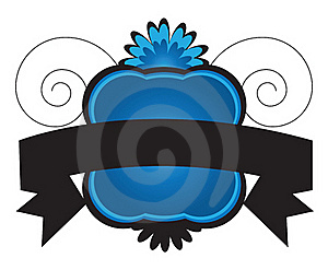 Banner With Ribbon Stock Images - Image: 16913644