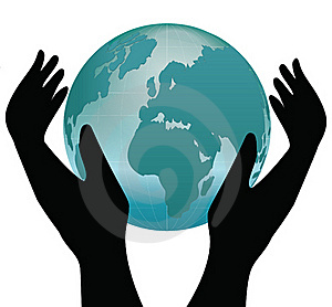 Earth In Human Hands Stock Photo - Image: 16918150