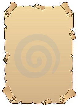 Ancient Paper Scroll 1 Royalty Free Stock Image - Image: 16922966