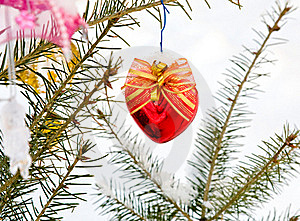 Christmas-tree Decoration Royalty Free Stock Photography - Image: 16925977