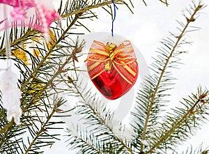 Christmas-tree Decoration Royalty Free Stock Photography - Image: 16925977