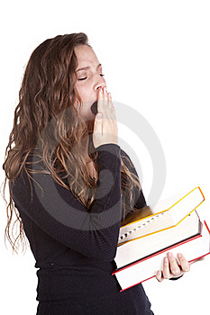 Tired Student Royalty Free Stock Photography - Image: 16930437