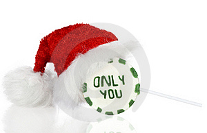 Christmas Lovely Lollipop Royalty Free Stock Image - Image: 16930916