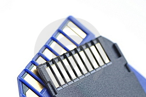 Close-up Memory Cards Stock Photo - Image: 16931520