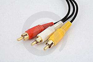 Audio Video Cables Stock Photos - Image: 16933273