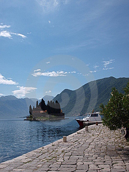 St. George's Island, Perast, Montenegro Royalty Free Stock Images - Image: 16942959