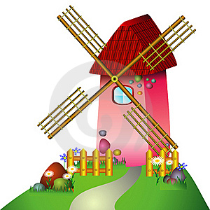 Windmill Stock Photos - Image: 16943903