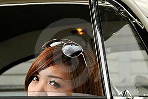 Girl Peeping Royalty Free Stock Photos - Image: 16951678