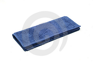 Blue Soft Terry-cloth Royalty Free Stock Images - Image: 16951989