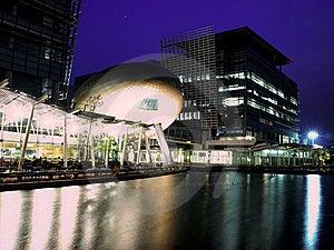 Hong Kong Science Park At Night Royalty Free Stock Image - Image: 16956036