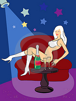 Sexy Girl Royalty Free Stock Photography - Image: 16958627