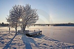 Beautiful Winter Landscape Stock Images - Image: 16959674