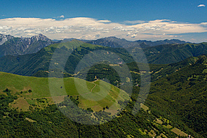 View From Monte Generoso Stock Photography - Image: 16960402