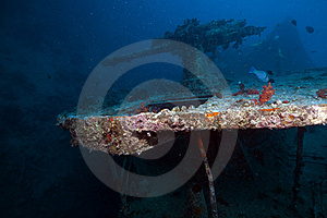 Weapons Of The Thistlegorm Wreck. Stock Images - Image: 16960494