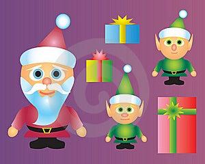 Christmas Characters Royalty Free Stock Image - Image: 16963516