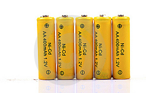 Rechargeable Batteries Stock Image - Image: 16963821