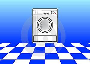 Washing Machine Royalty Free Stock Images - Image: 16965179