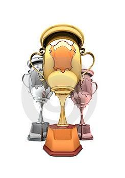 Sport Winning Cups Stock Image - Image: 16966411