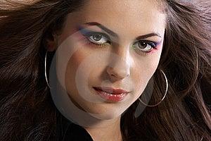 Glamour Face Stock Photo - Image: 16967230