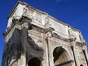 Constantine's Arch Royalty Free Stock Image - Image: 16971596