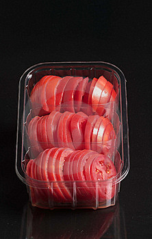 Tomato Slices Stock Image - Image: 16973381