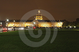 Invalides At Night, Paris Stock Photos - Image: 16974153
