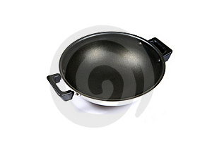 Non-stick Cooking Vessel Royalty Free Stock Image - Image: 16974236