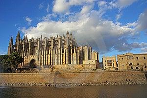 Palma De Majorca Cathedral Royalty Free Stock Photo - Image: 16974335