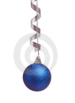 Blue Chistmas Decoration Royalty Free Stock Photography - Image: 16975797
