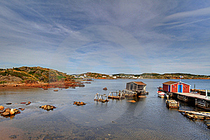 Fishing Stages Royalty Free Stock Photos - Image: 16978668
