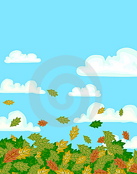 Fall Leaves Background Royalty Free Stock Photography - Image: 16978677