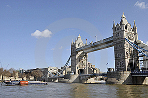 Tower Bridge And The City Of London Royalty Free Stock Images - Image: 16981589