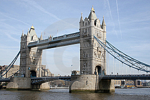 Tower Bridge And The City Of London Royalty Free Stock Image - Image: 16981816