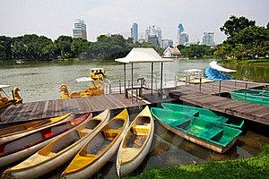 Paddle Boat Stock Image - Image: 16988511
