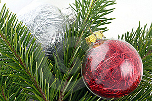 Christmas Decoration Bubbles Royalty Free Stock Photos - Image: 16989018
